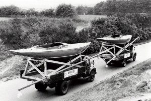 Dragon boats  built  in 1956 and exported to UK