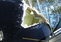Fibre glass repair