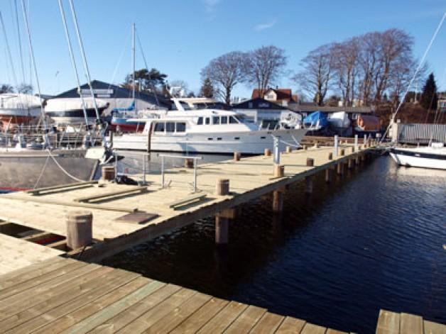 New dock facilities 2011