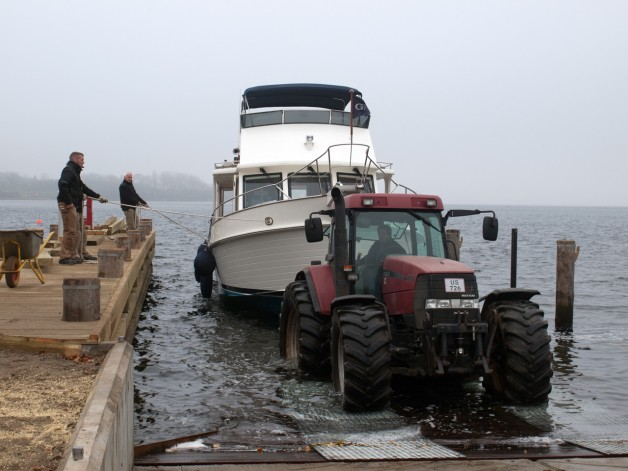 New slipway at Walsteds