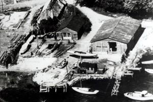 Walsteds Baadeværft in 1950