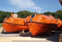 Rescue boats Innovator & Giant