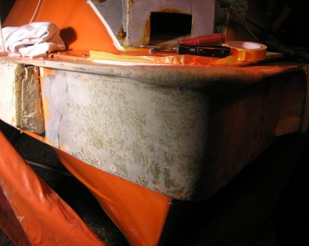 Rescue boat MOB
